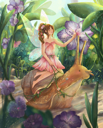 Adventure Snail_Marina Alcoser Illustration