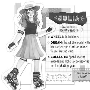 Skaters Gonna Skate-Julia