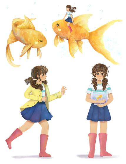 A Goldfish and its Bowl Character Sheet