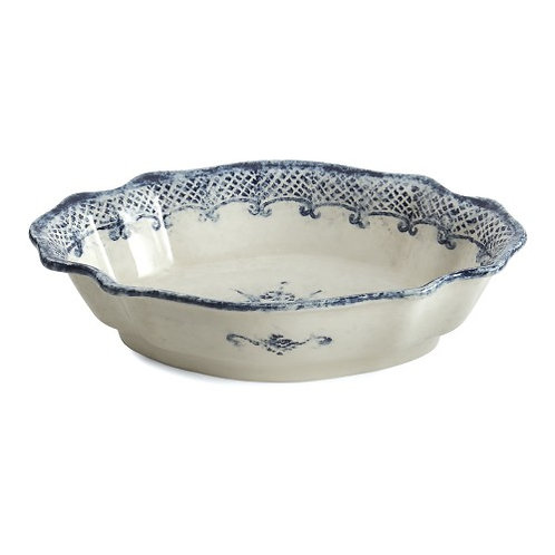Arte Italica Burano Scalloped Oval Bowl