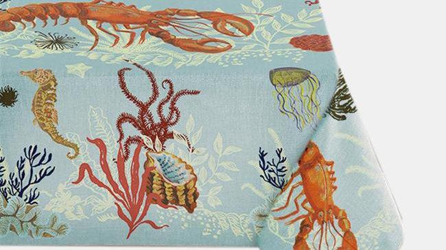 Avenida Home Lobster Tablecloth 60x120