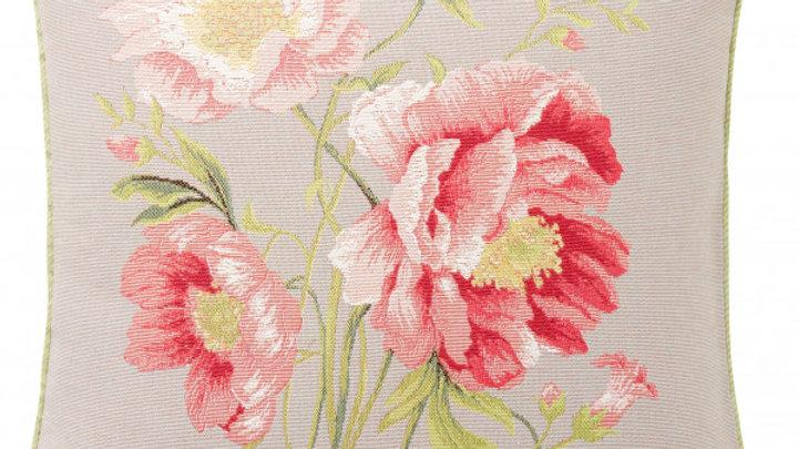 Art de Lys Peony Bouquet Pillow 20x20 w/ down insert