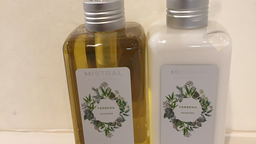 Hand Wash & Hand Lotion Duo in Verbena