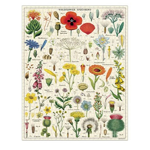 Cavallini Wildflowers 1000 piece Puzzle