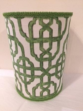 Sevadjian Designs Wastebasket in Bamboo Green