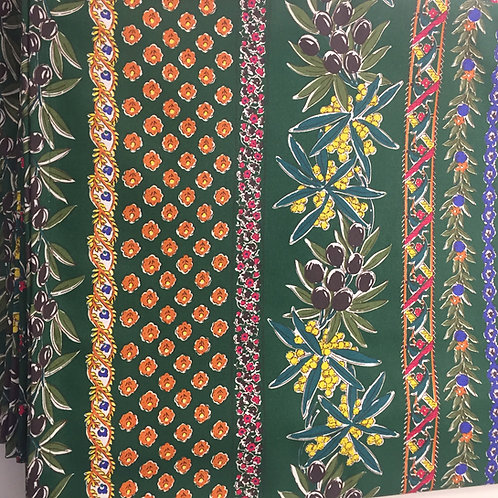 Coated Provençale 60x96 inch Tablecloth