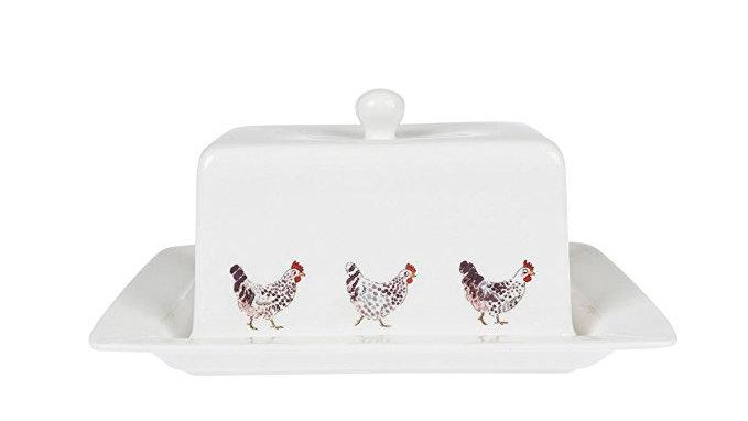 Sophie Allport Chicken Butter Dish