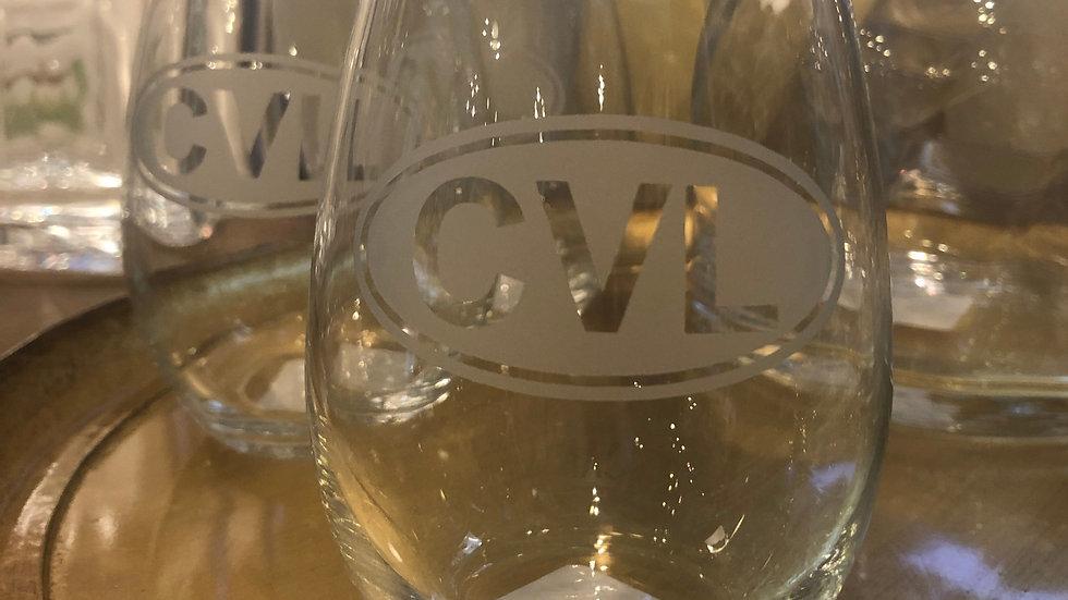 CVL Stemless Wine Glass