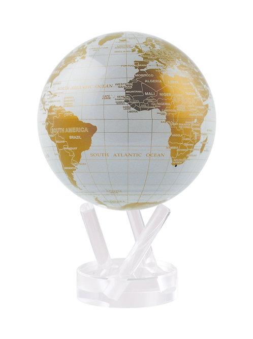White & Gold Mova Globe