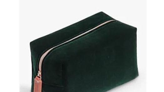 Velvet Cube Bag by Caroline Gardner
