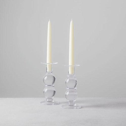 Simon Pearce Hartland Candlestick Medium