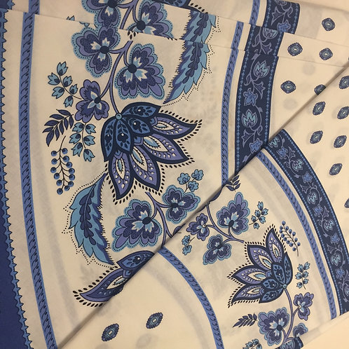 """Coated Provençale 70"""" Round Tablecloth"""