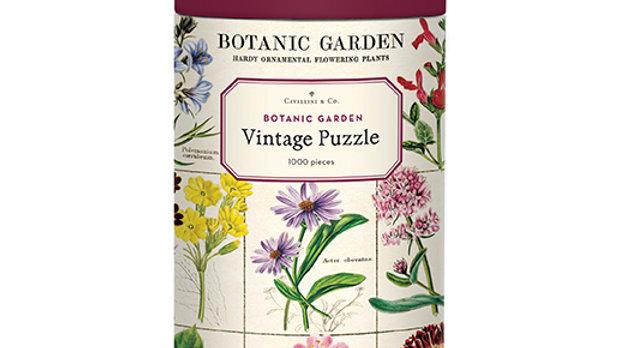 Cavallini Botanic Garden 1000 piece puzzle