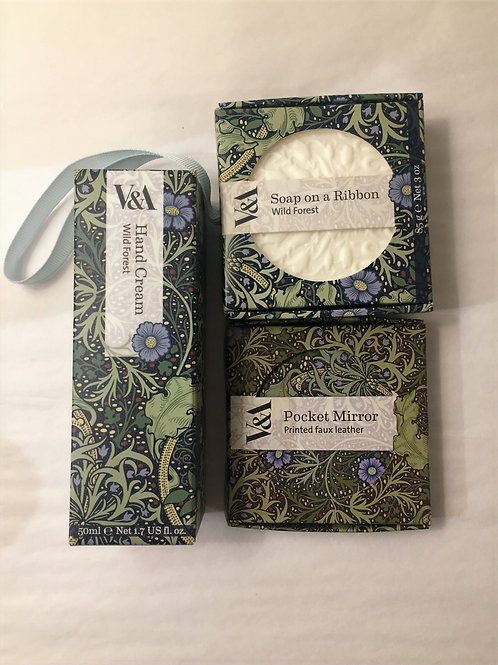 Trio of Personal Care Products from the V&A - Wild Forest Scent