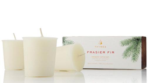 Frasier Fir Votive Set of Three 2oz candles