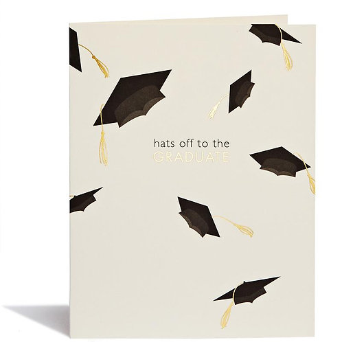 Hats Off Graduation Card from Snow & Graham