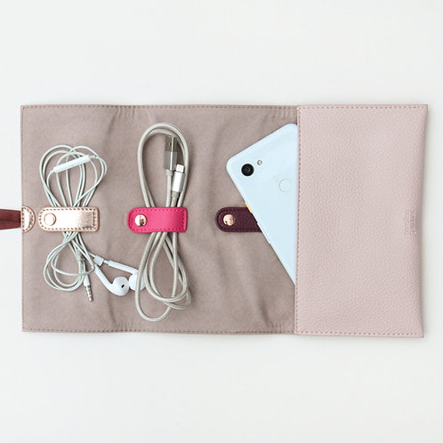 Pale Pink Tech Roll from Caroline Gardner