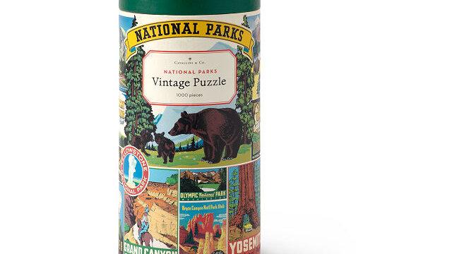 Cavallini National Parks Puzzle