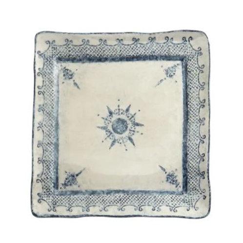Arte Italica Square Platter Burano