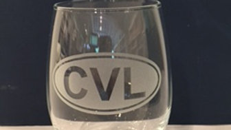 Stemless Charlottesville Wine Glass