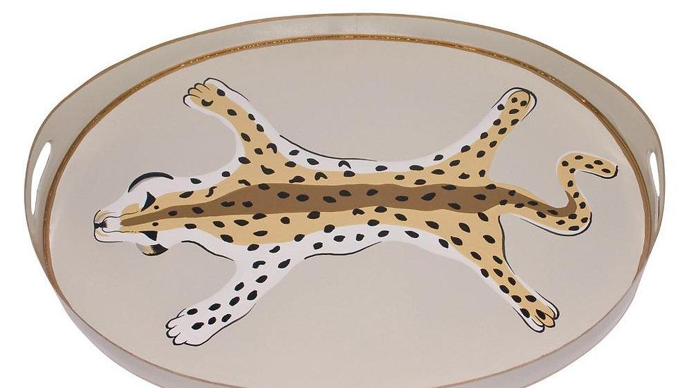 Cheetah Tray by Dana Gibson