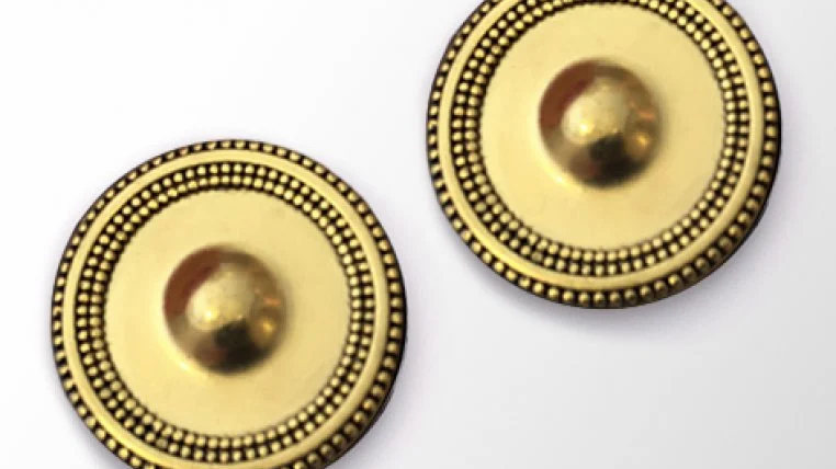 Gold Magnebutton