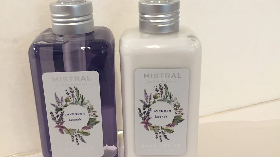 Hand Wash & Hand Lotion Duo in Lavender