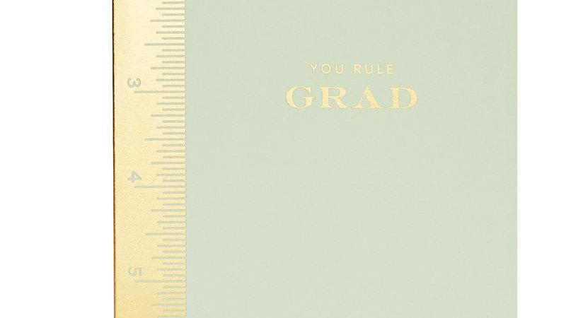 You Rule Graduation card from Snow & Graham