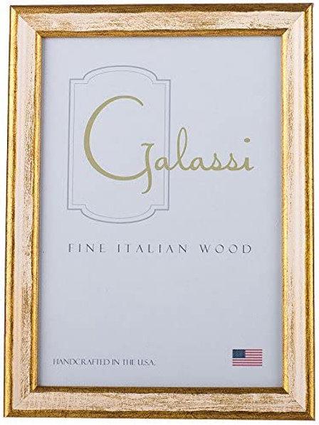 Galassi Gold w/ White 8x10 frame