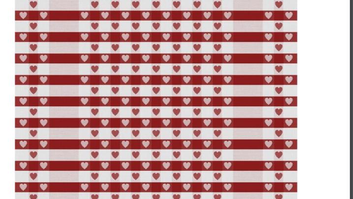 Special Edition Heart towel from Le Jacquard Français