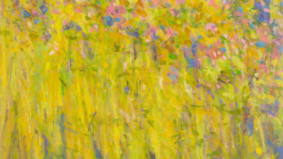 Summer Meadow 24x30 by Priscilla Long Whitlock