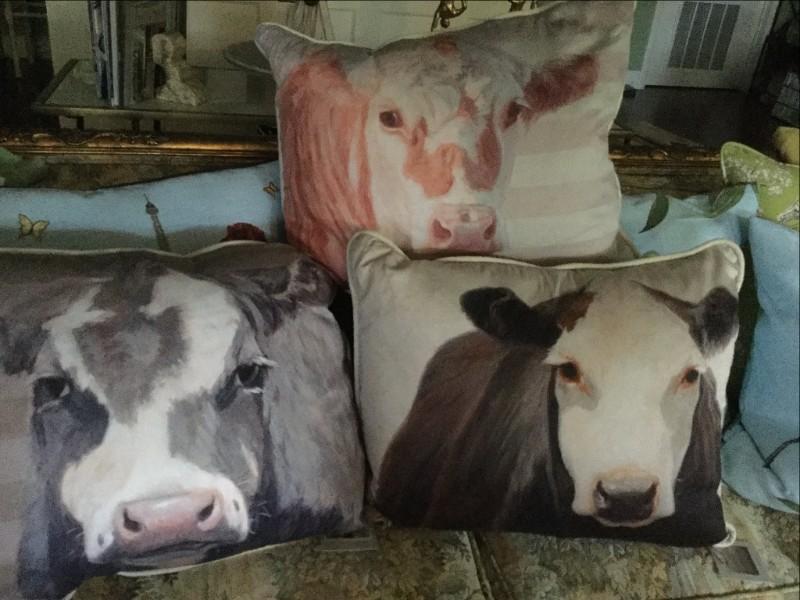 Nancy's Cow Pillows