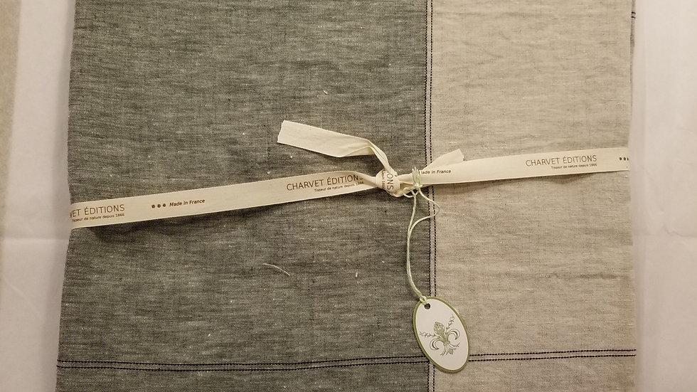 Linen Charvet Tablecloth 71x71