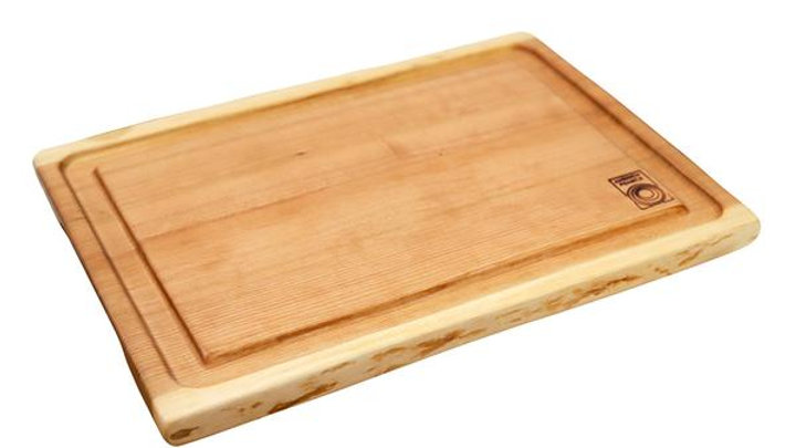 Andrew Pearce Cherry Cutting Board with Well - Medium