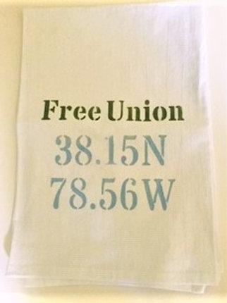 Free Union Flour Sack Towel