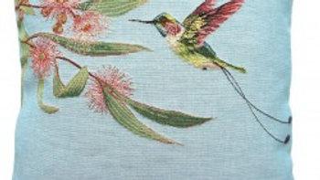 Eucalyptus with Pink Hummingbird