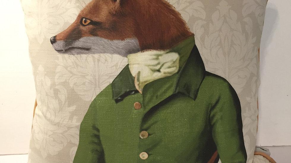 Fab & Funky Fox Pillow