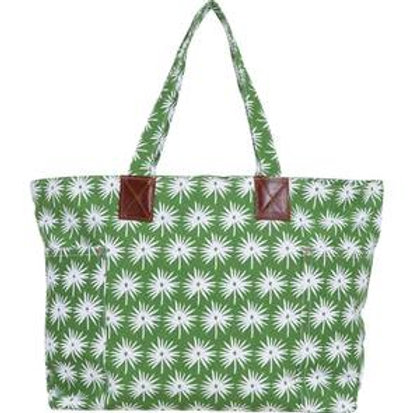Palmetto Cotton Canvas Tote Bag