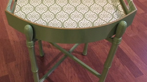 Portable table from Holly Stuart - Sage green