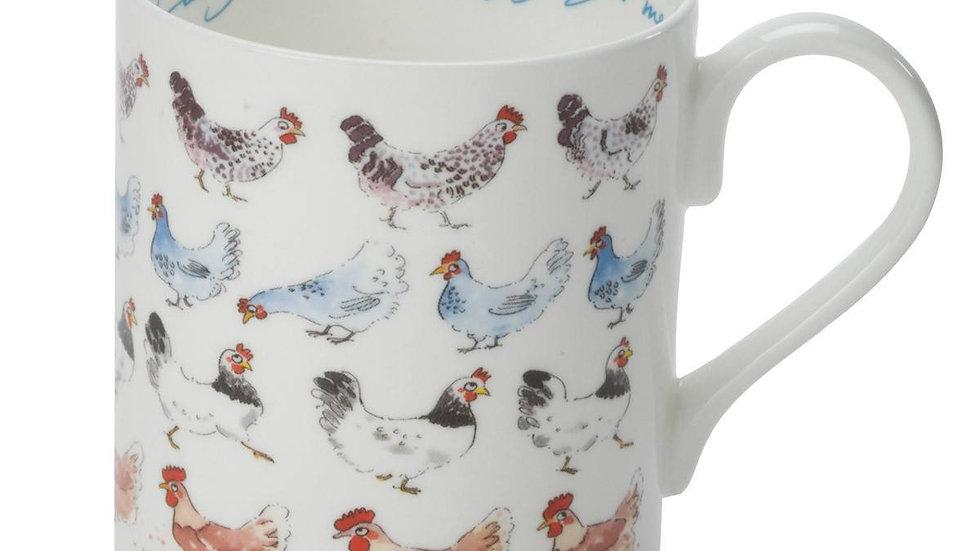 """Sophie Allport """"Lay a Little Egg for Me"""" Large mug"""