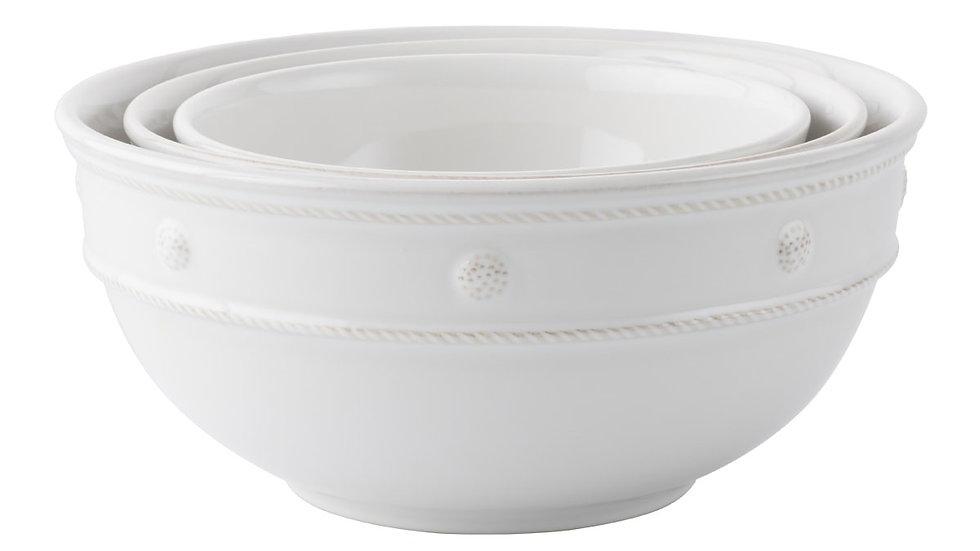 Juliska Berry & Thread Nesting Bowls Set of 3