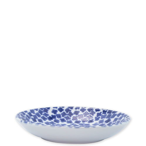 Viva Vietri Santorini pasta bowl in flower pattern