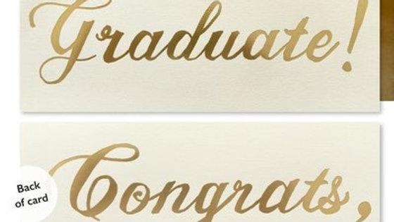 J Falkner Graduation Card