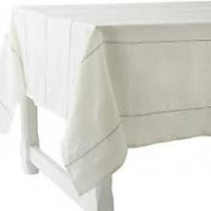 "Charvet 71"" square linen tablecloth"
