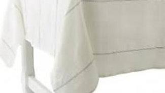 "Charvet 71"" square linen tablecloth"