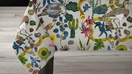 """60x120 Avenida Home Linen tablecloth """"Birds in the Dunes"""""""