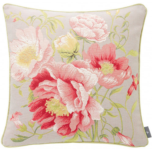 Art de Lys Peonies Pillow 20x20 w/ down insert