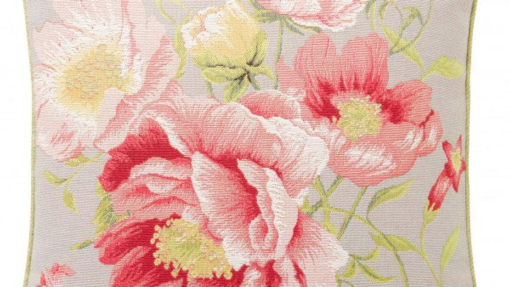 Art de Lys Peonies Pillow 20x20 w/ down insert