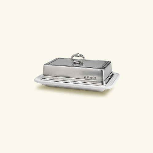 Match Convivio Pewter Butter Dish