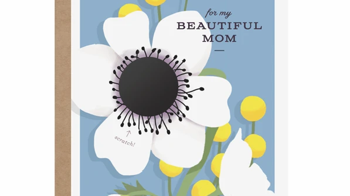 For my beautiful mom card